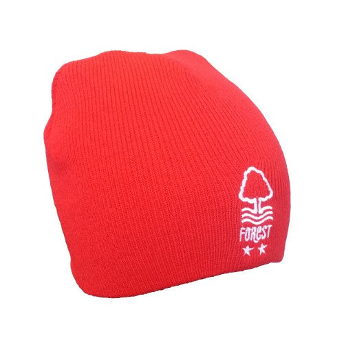 NFFC Junior Core Red Beanie