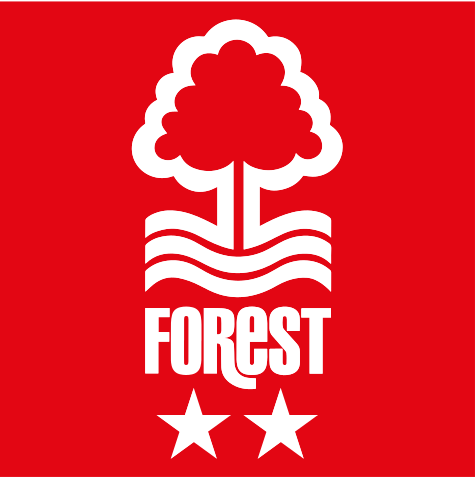 NFFC Red Crest Car Sticker - Nottingham Forest