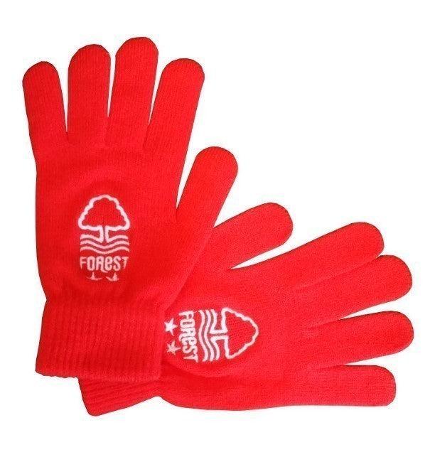 NFFC Red Adult Gloves