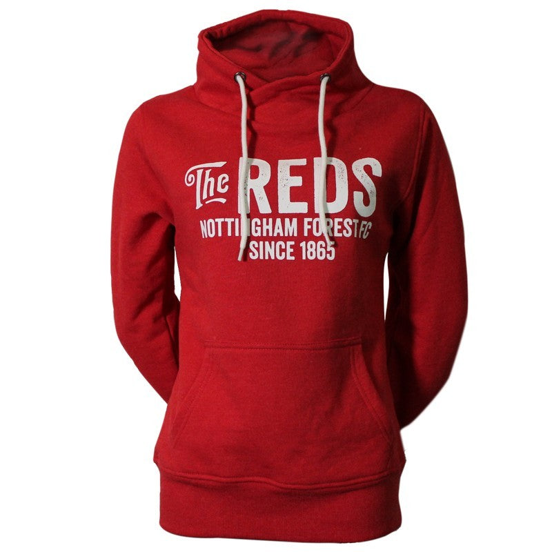 NFFC Girls Red Collar Neck Sweat