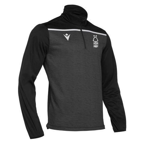 NFFC Mens Black Rhine 1/4 Zip