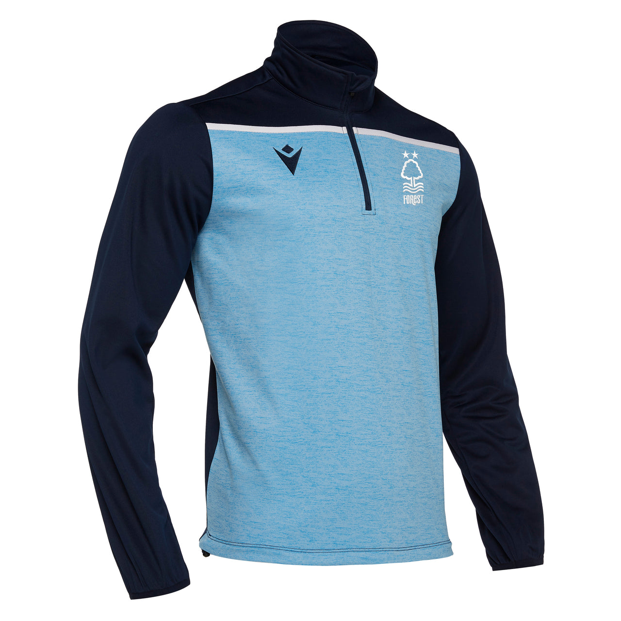 NFFC Mens Blue Rhine 1/4 Zip