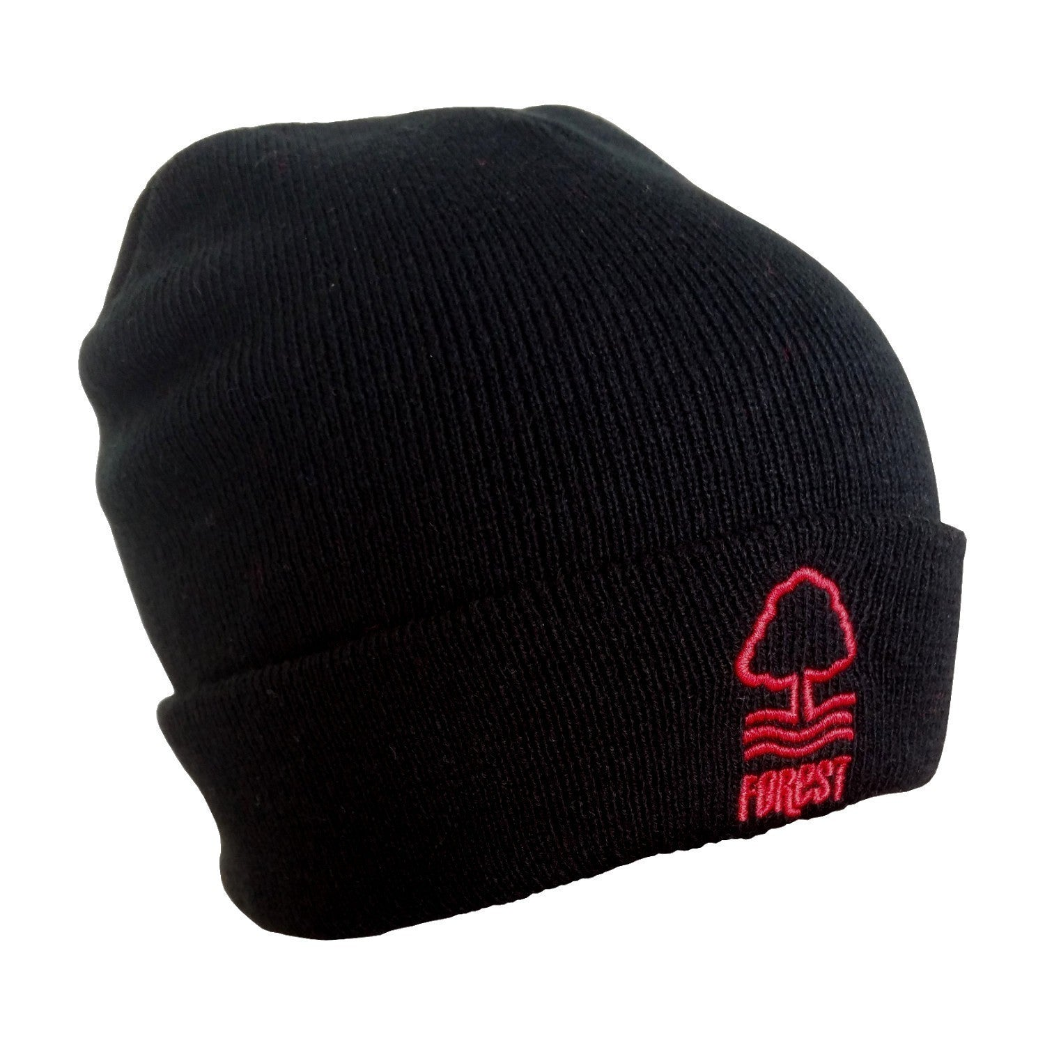NFFC Junior Essential Black Bronx Hat - Nottingham Forest