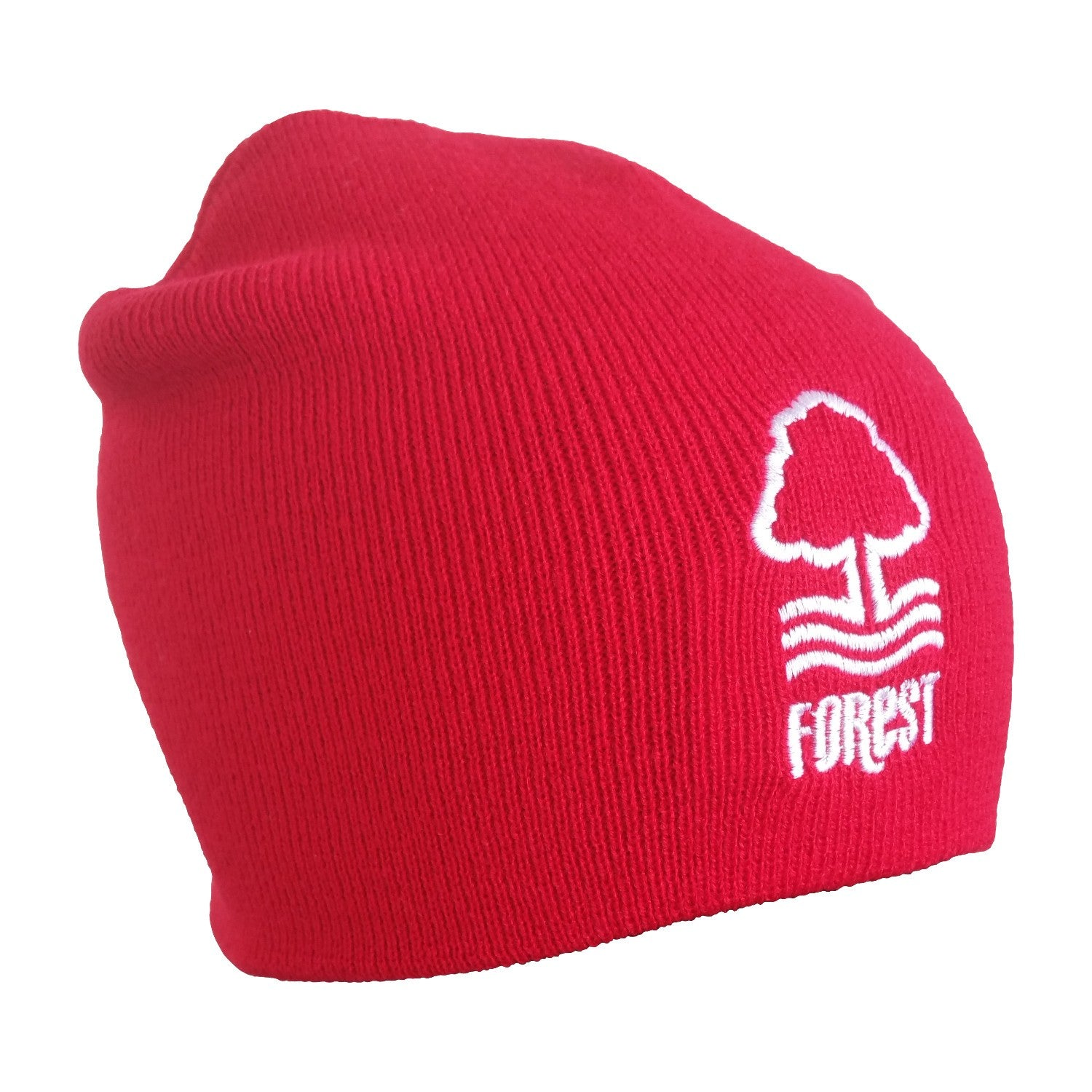 NFFC Junior Essential Red Beanie - Nottingham Forest