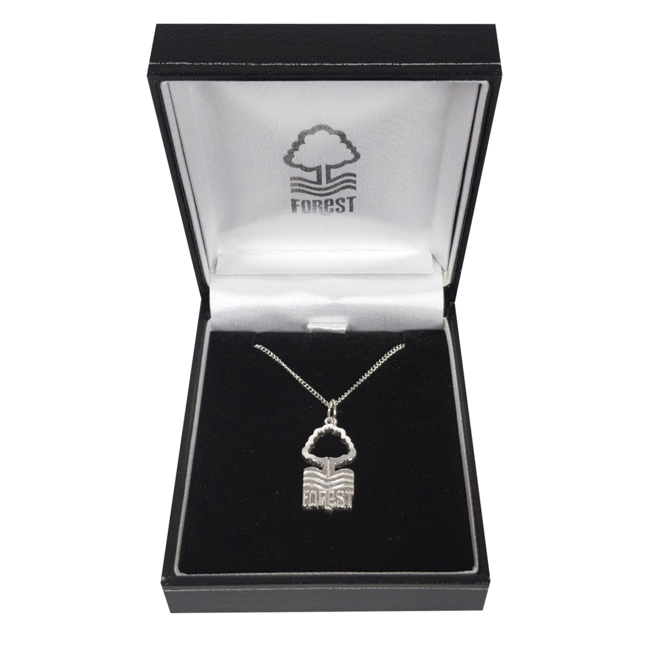 NFFC Silver Crest Pendant and Chain