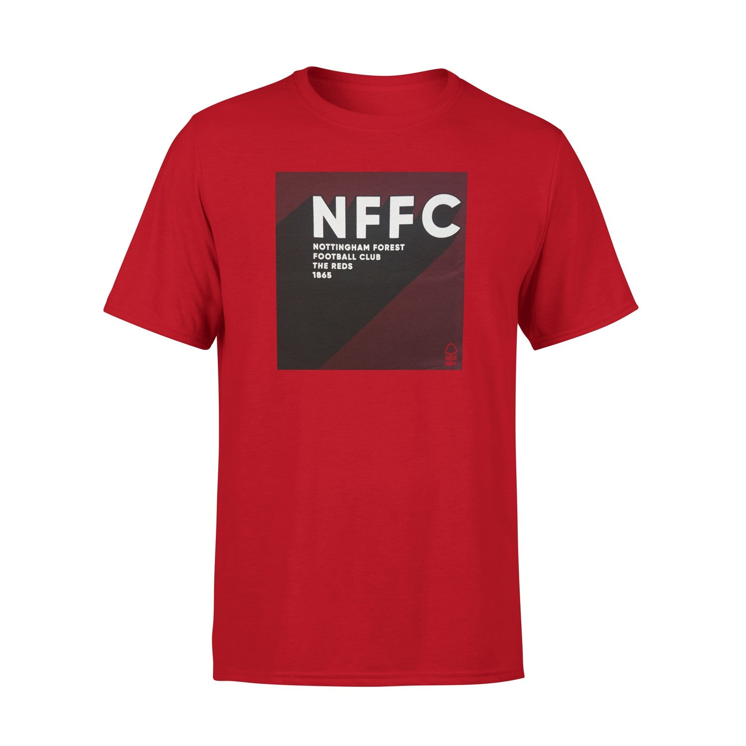 NFFC Junior Red Square T-Shirt - Nottingham Forest