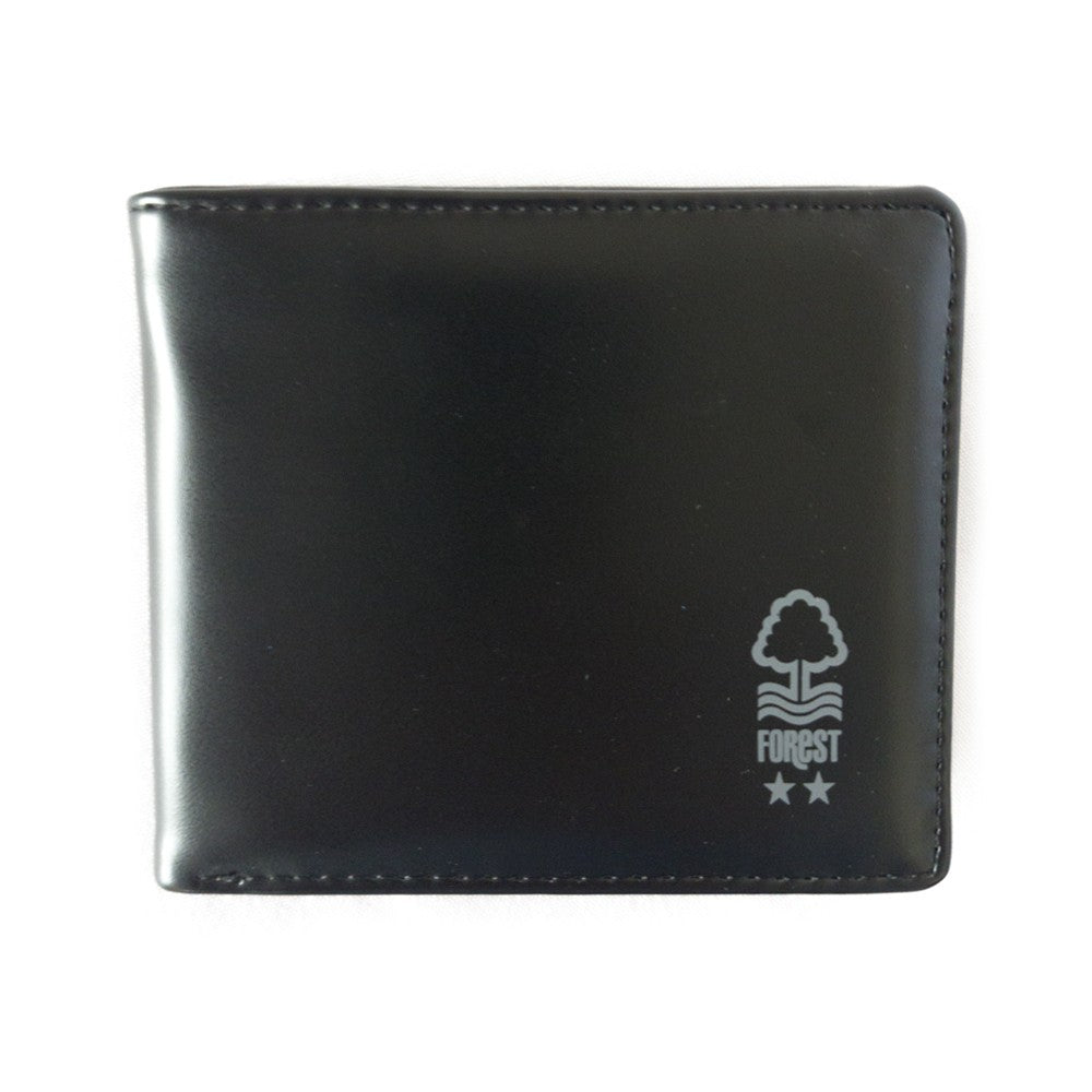 NFFC Black City Ground Panoramic Wallet - Nottingham Forest