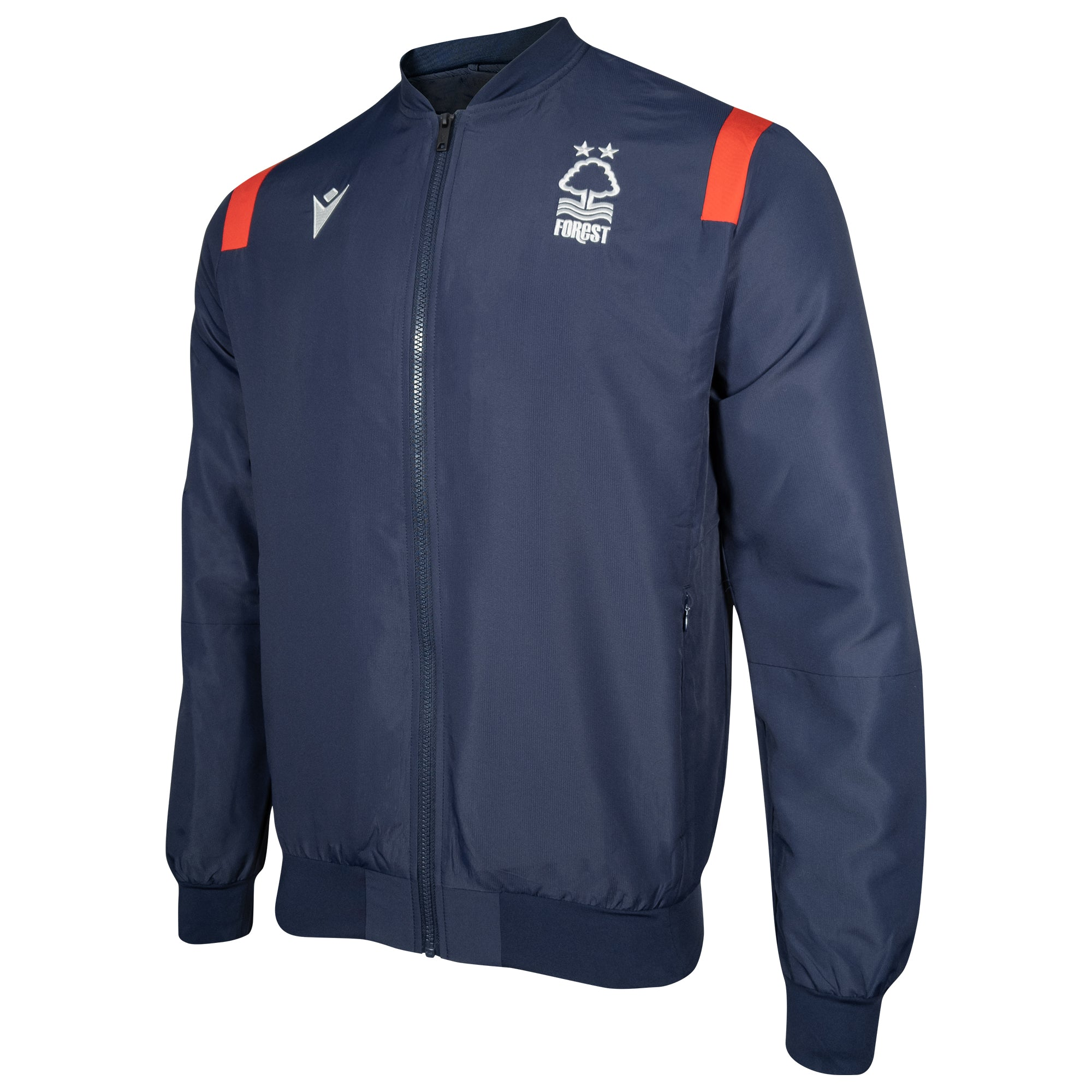 NFFC Junior Staff Full Zip Travel Top 2020/21