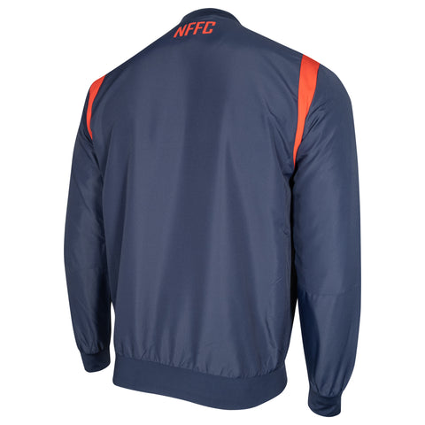 NFFC Mens Staff Full Zip Travel Top 2020/21