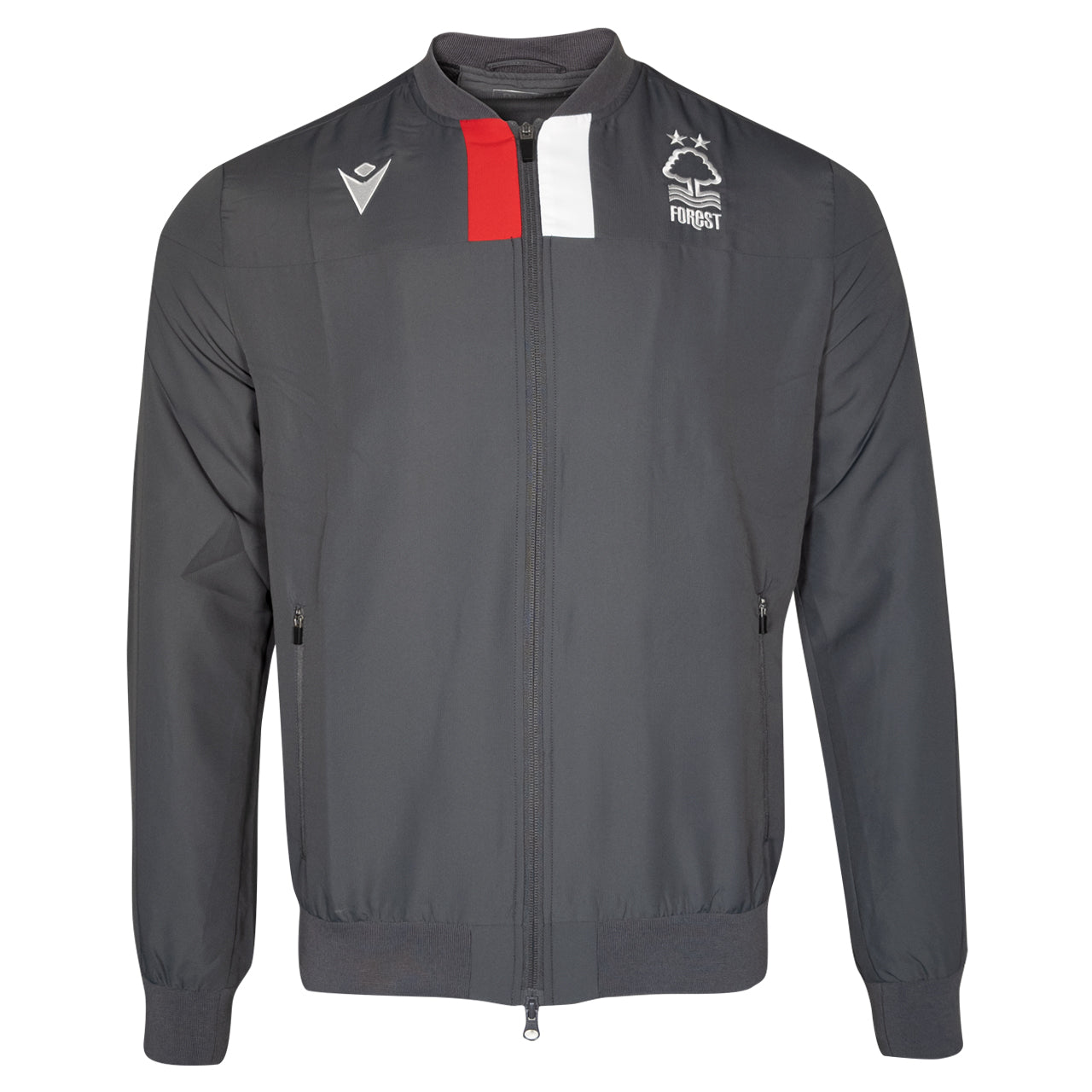 NFFC Junior Grey Staff Full Zip Training Top 19/20