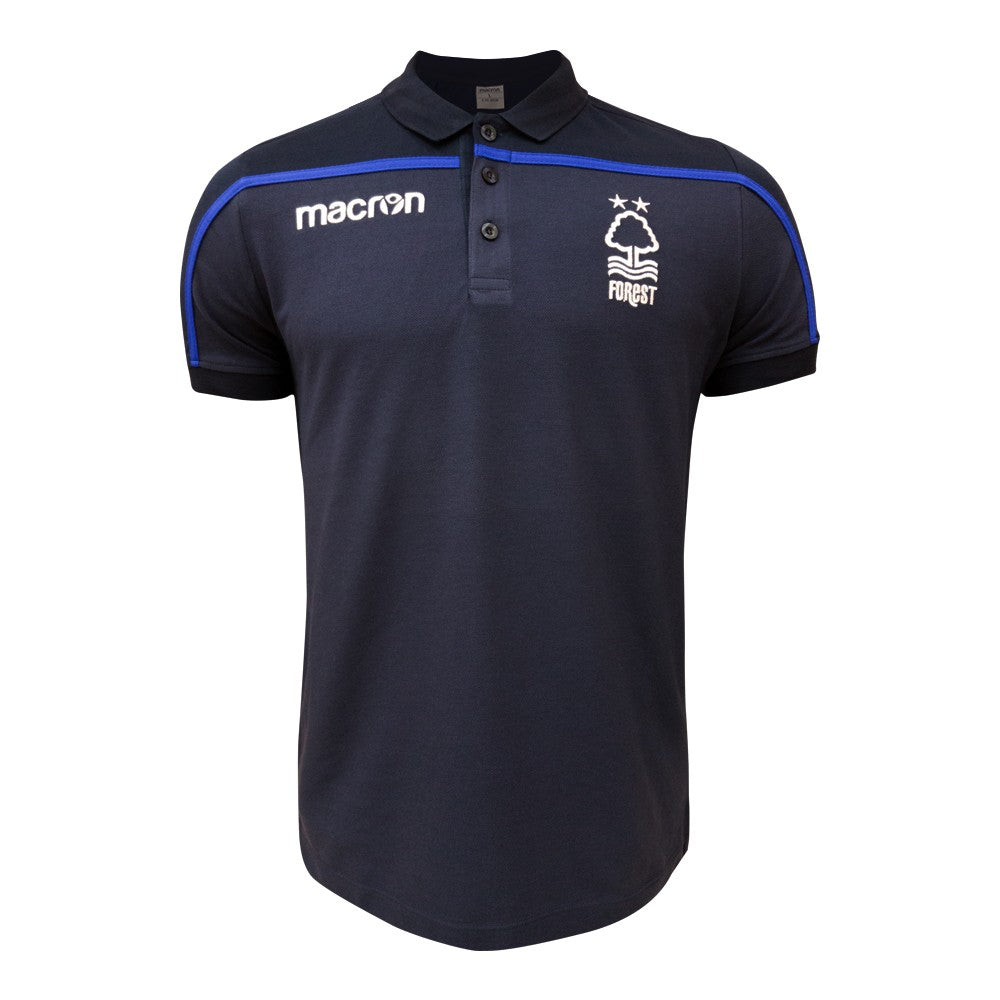 NFFC Junior Navy Travel Polo 18/19