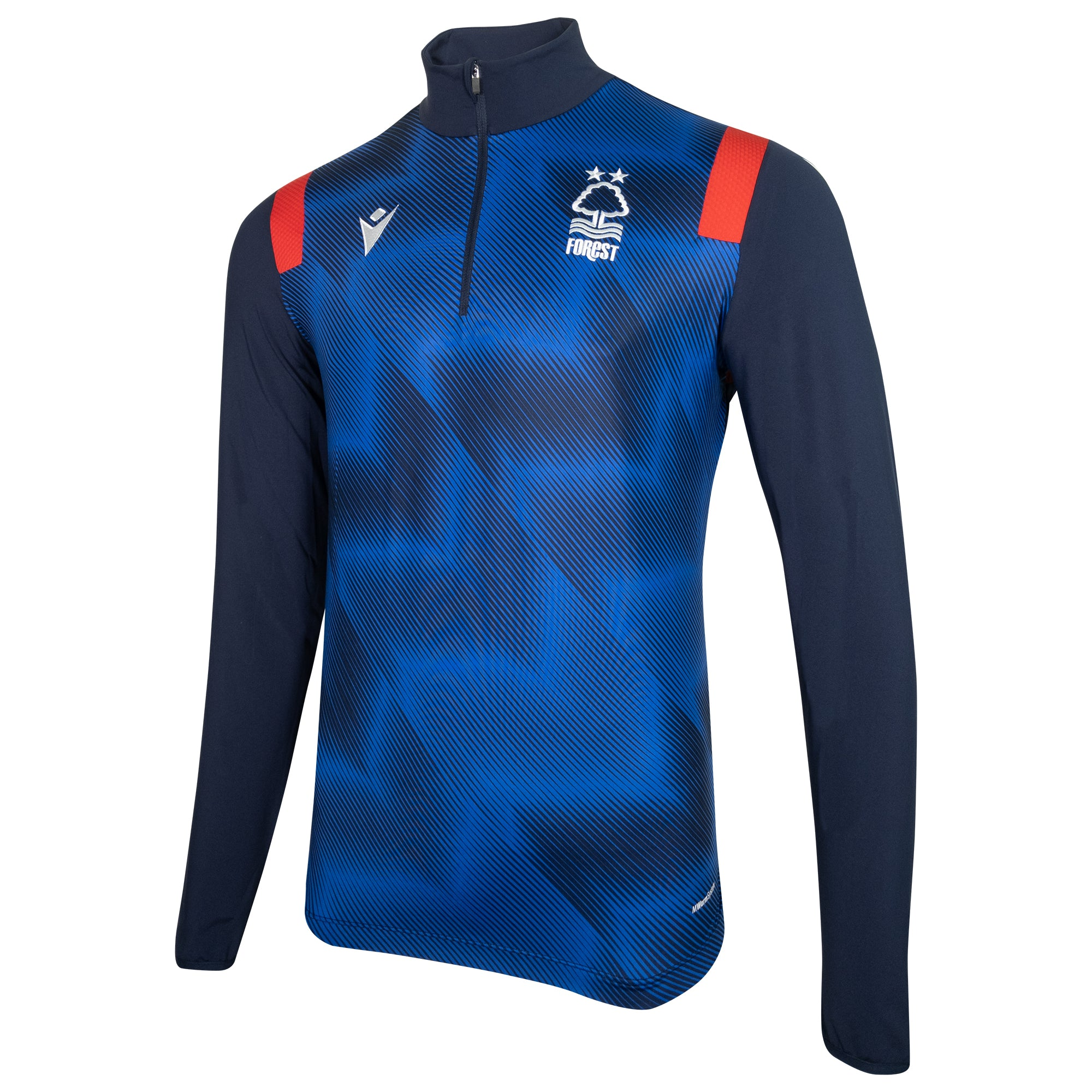 NFFC Mens Staff Training 1/4 Zip Top 2020/21