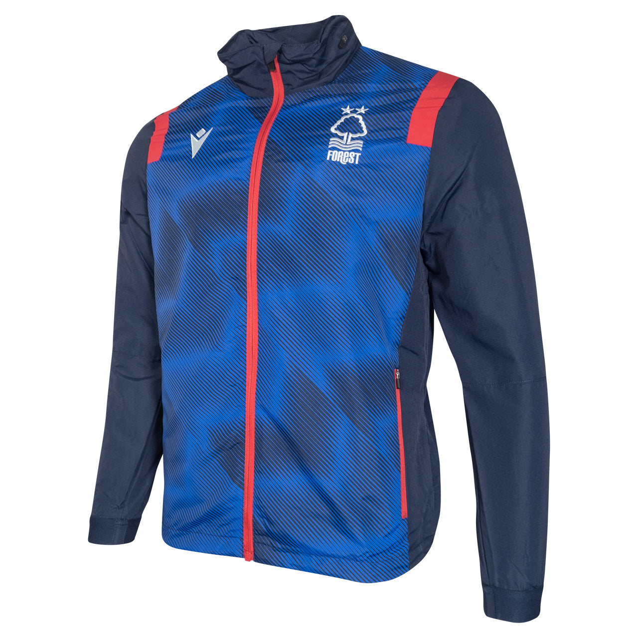 NFFC Junior Staff Training Shower Jacket 2020/21