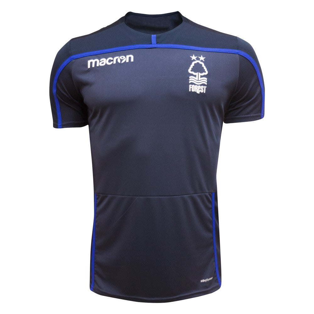NFFC Mens Navy Training Jersey 18/19 - Nottingham Forest