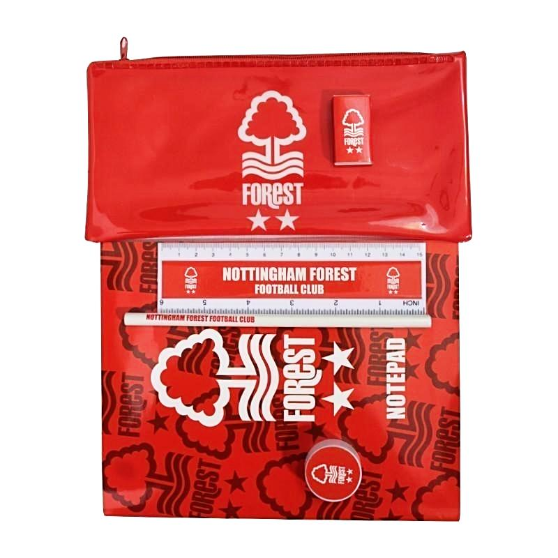 NFFC 6 Piece Stationery Set - Nottingham Forest