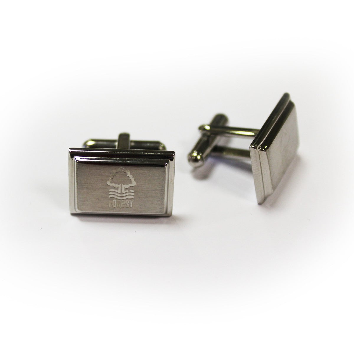 NFFC Rectangle Crest Cufflinks - Nottingham Forest