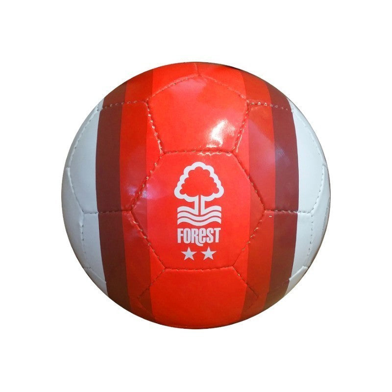 NFFC Red Striped Size 5 Football