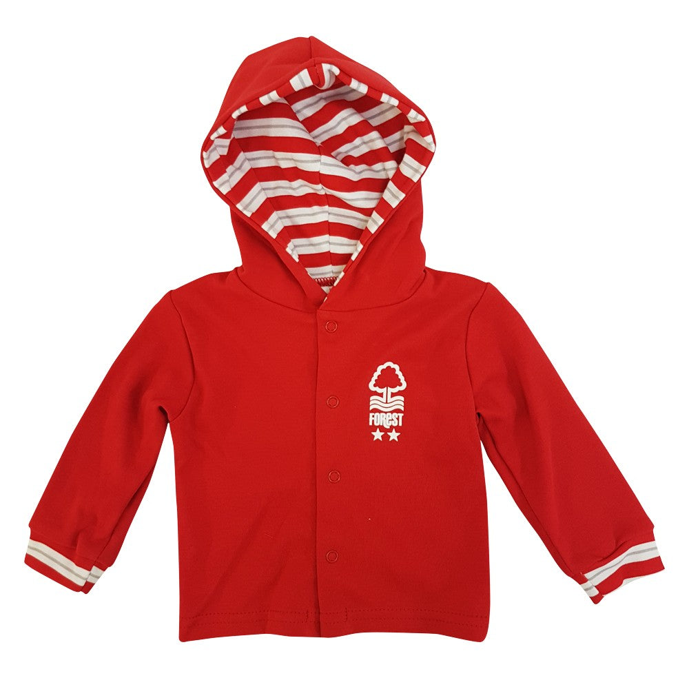NFFC Baby Red Hooded Jacket - Nottingham Forest