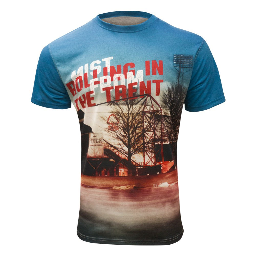 NFFC Mens Mist Rolling In Sublimated T-Shirt