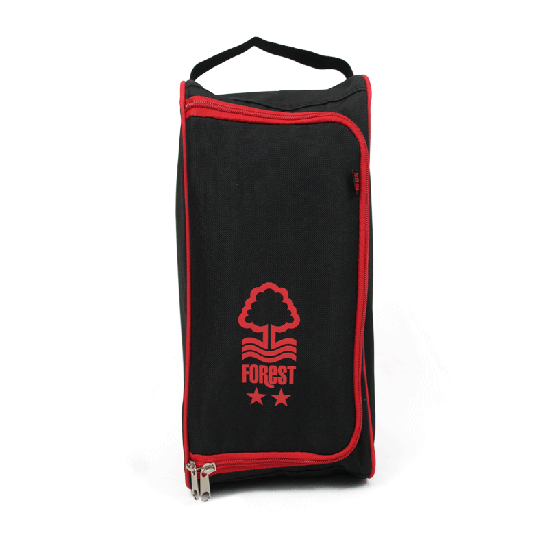 NFFC Black Pro-Tech Boot Bag - Nottingham Forest