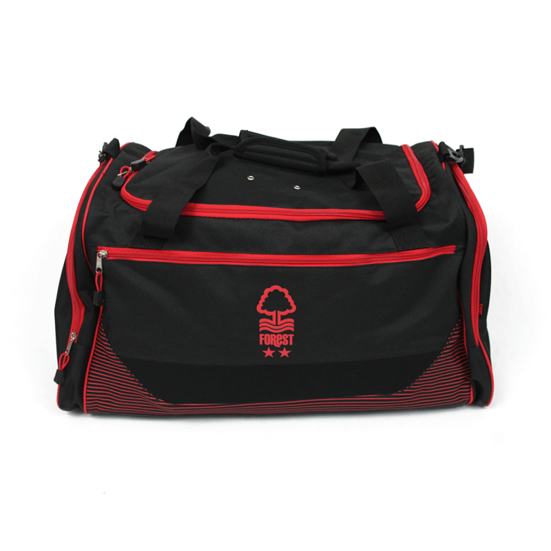 NFFC Black Pro-Tech Holdall - Nottingham Forest