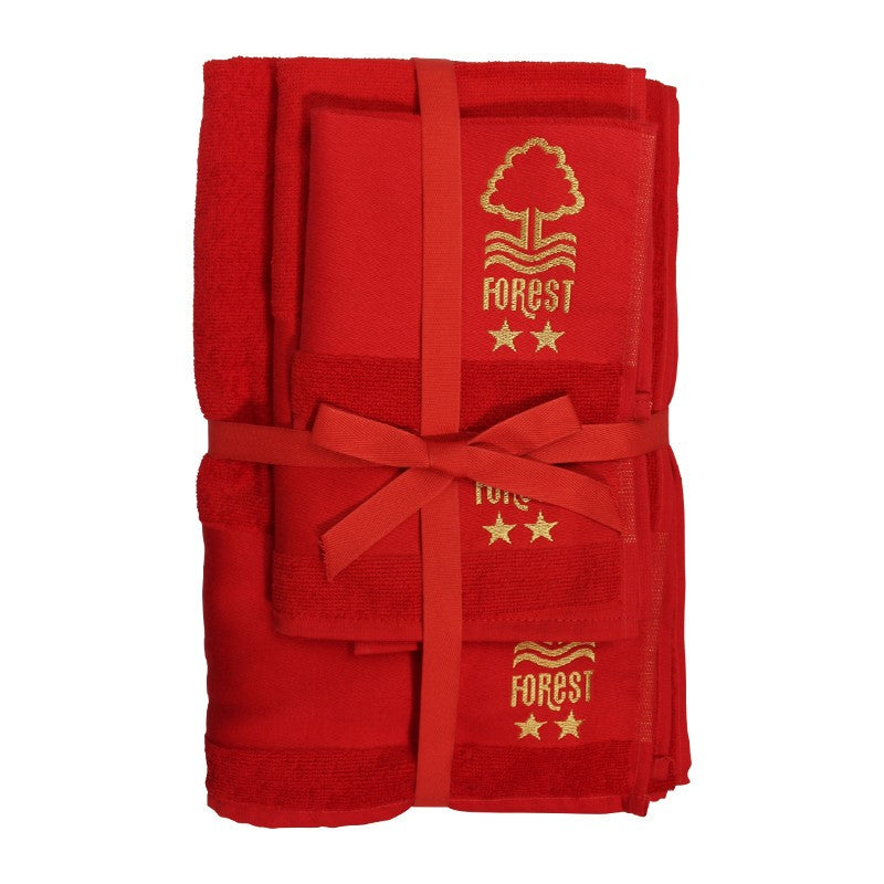 NFFC 3 Piece Towel Set - Nottingham Forest