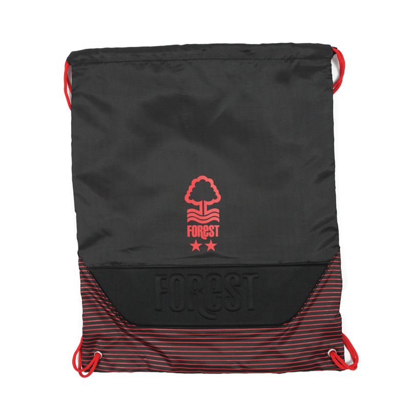NFFC Black Pro-Tech Gym Bag - Nottingham Forest