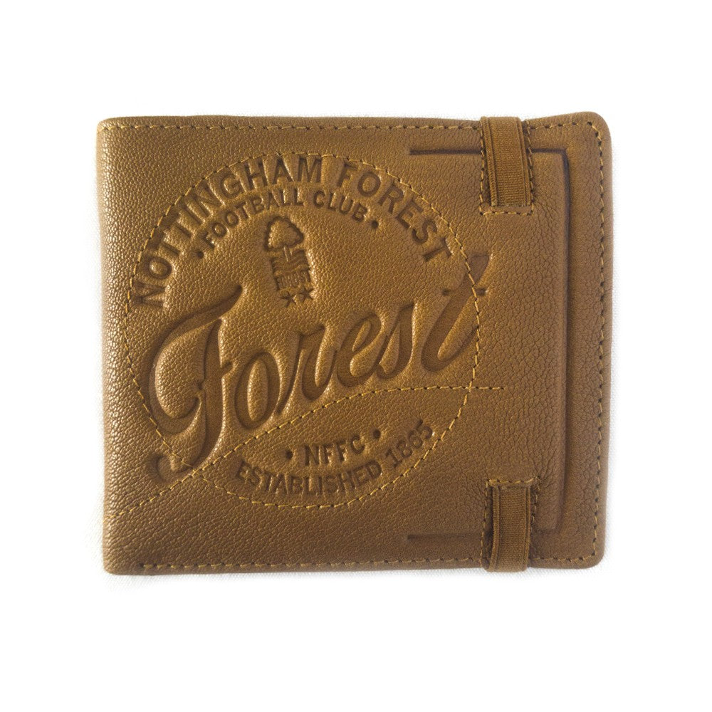 NFFC Tan Vintage Leather Wallet