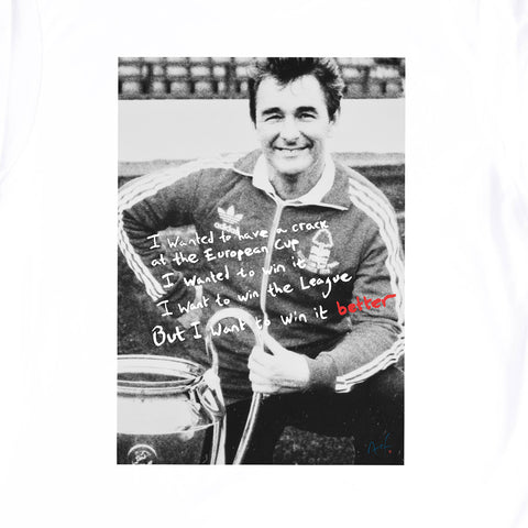 NFFC Mens White Win It Better T-Shirt - Nottingham Forest