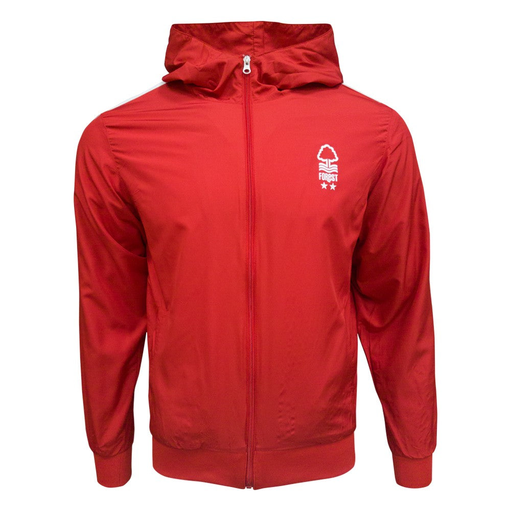 NFFC Mens Red  Wind Jacket
