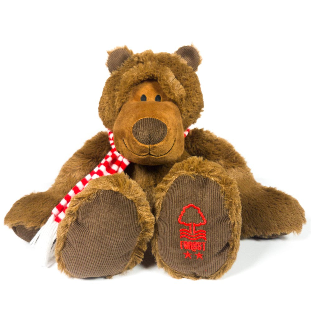NFFC 30cm Windsor Bear - Nottingham Forest