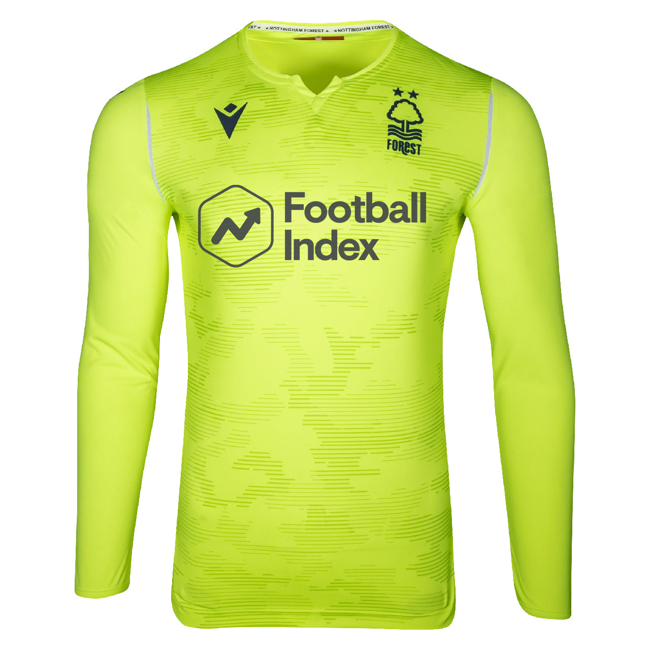 NFFC Mens Yellow Goalkeeper Shirt 2019/20