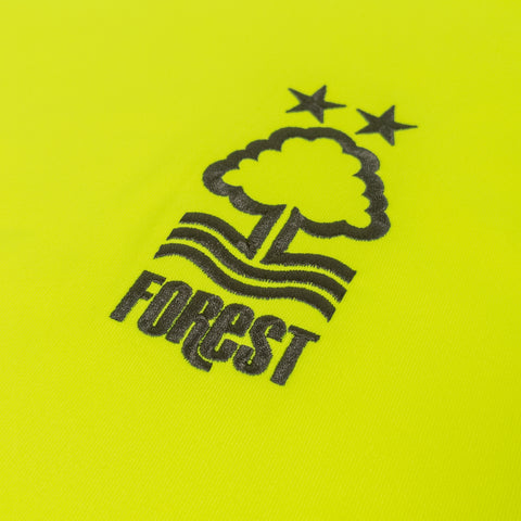 NFFC Mens Yellow Goalkeeper Shirt 2020/21