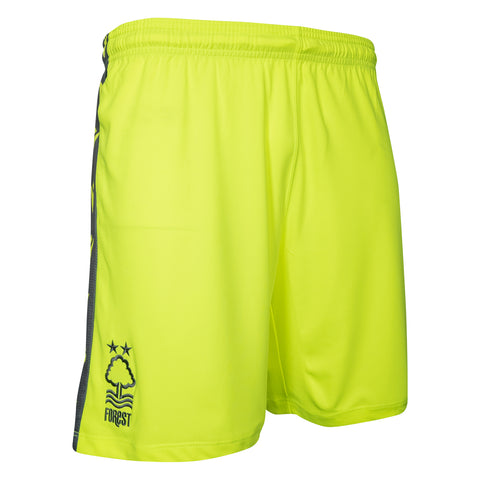 NFFC Mens Yellow Goalkeeper Shorts 2020/21