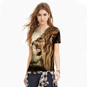 Stylish Lion 3d T-shirt