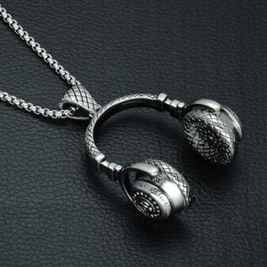 Headset Music Necklace