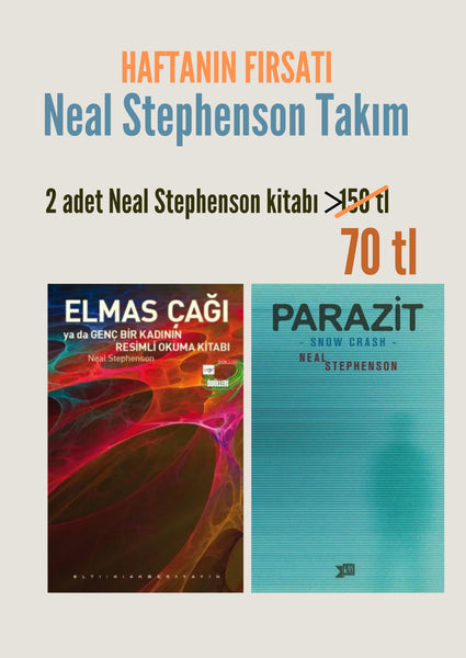 HAFTANIN FIRSATI / NEAL STEPHANSON SETİ