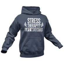 Load image into Gallery viewer, Stress therapy? Premium Hoodie