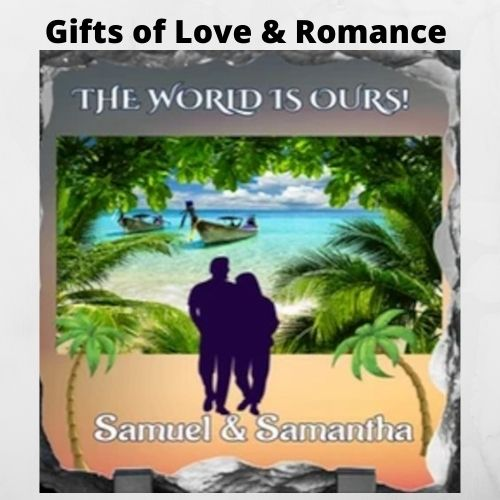 Gifts of Love and Romance - Personalized Valentines Day Gifts, Engagement Gifts, Wedding Gifts