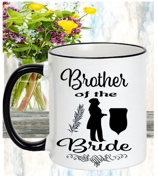 Brother of Bride Mug