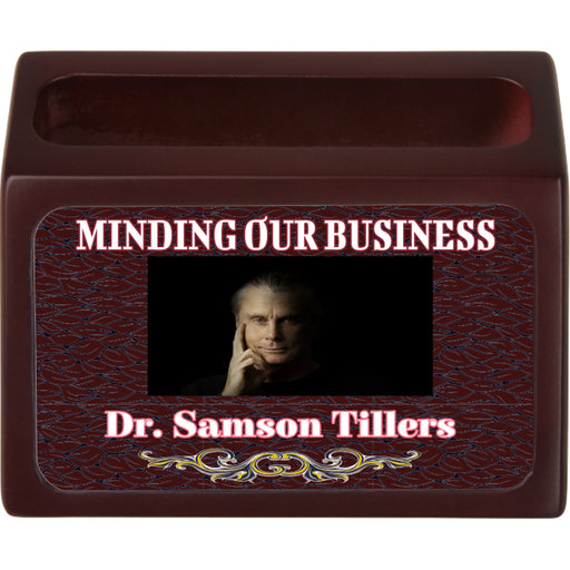 personalized business holder
