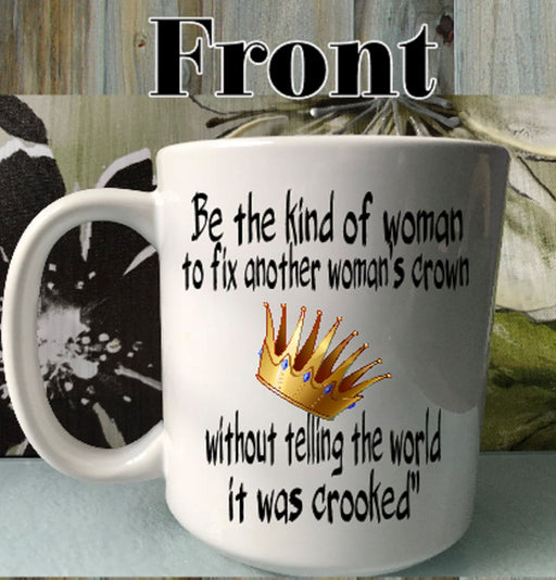 Crooked Crown Inspirational Quote Empowerment Gift