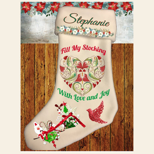 Fill My Stocking With Love and Joy