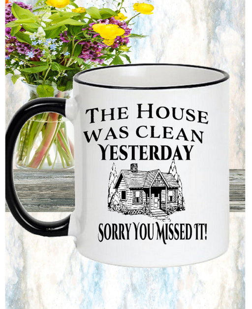 Funny home warming mug gift