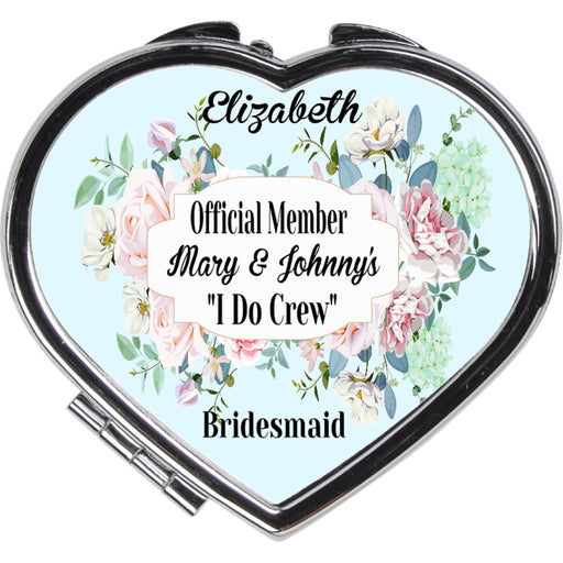 "Official Member of the ""I Do Crew"" Compact Mirror"