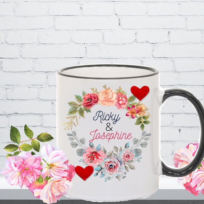 Mug Gift for Couples, Anniversaries, Engagements, Valentines Day
