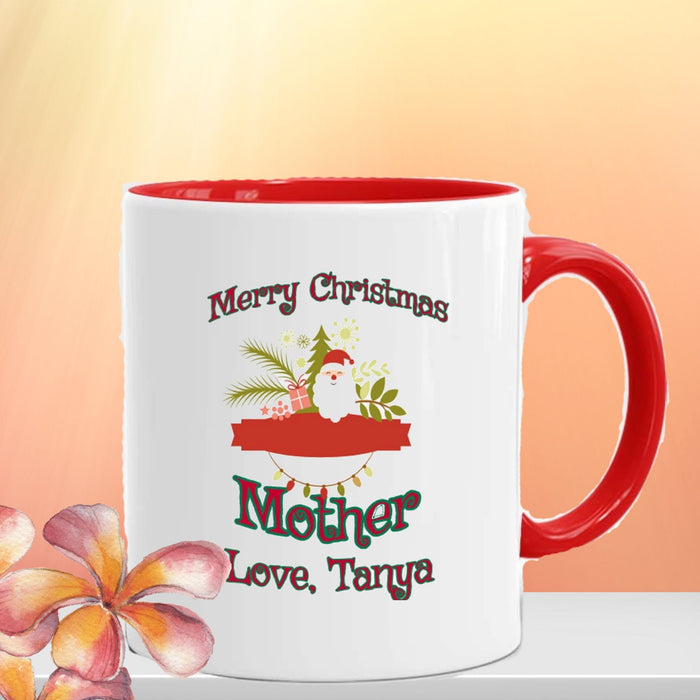 Personalized Merry Christmas Mug