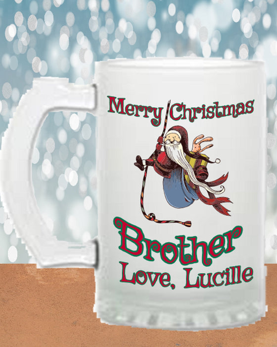 Merry Christmas Brother Beer Stein