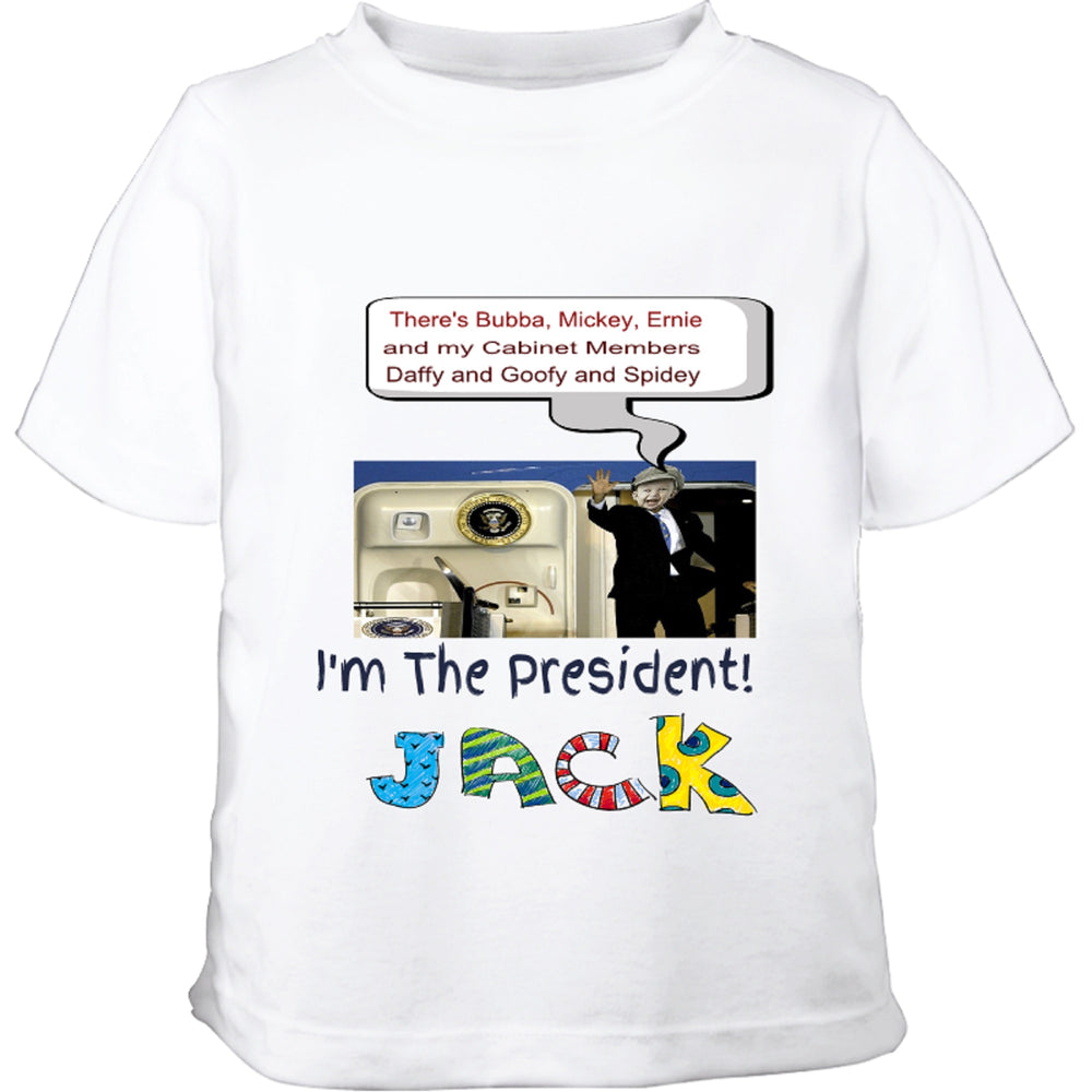 """Coming Off Air Force One""  Toddler T-Shirt"