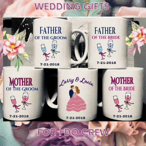 Personalized Wedding Gifts for The Bride and Groom Parents